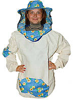 Куртка пчеловода Классика. Бязь суровая. Размер S / 48