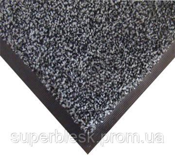 Нейлоновый грязезащитный коврик. 120*150 серый.