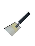 Скребок – лопатка с полимерной ручкой (из нержавеющей стали)