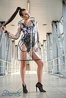 Модный прозрачный плащ дождевик Gloss