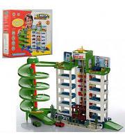 Детская парковка Гараж Joy Toy