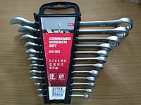 Набор ключей комбинированных, 6 - 22 мм, 12 шт., Matrix (154129)