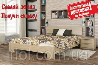 Ліжко дерев'яна Титан полуторне