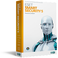 Антивирус smart security (3 пк, 1год)NOD32