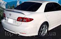 Спойлер на багажник Mazda 6