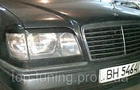 Ресницы передних фар Mercedes E-Class