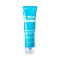 Гиалуроновый увлажняющий крем с эффектом пилинга Secret Key Hyaluron Aqua Micro Peel Cream