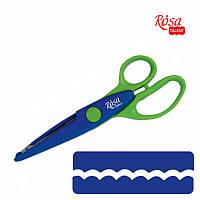 Фигурные ножницы для бумаги и фоамирана №1, 16.5 см, ROSA Talent