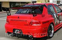 Карбоновый спойлер APR GT300 style Mitsubishi Lancer