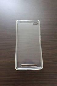 Силиконовый прозрачный чехол Xiaomi Redmi 3