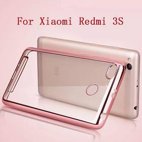 Силиконовый чехол для Xiaomi Redmi 3/3s/3 Pro