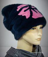 Норковая шапка зимняя женская Росомаха