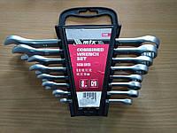 Набор ключей комбинированных, 6 - 19 мм, 8 шт., Matrix (154069)