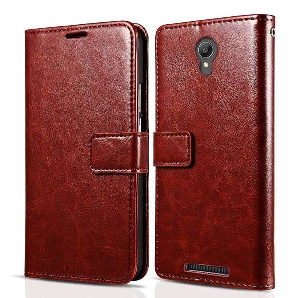Кожаный чехол для Xiaomi Redmi Note 2