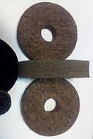 Войлочный круг для полировальный на точило 125 мм жесткий