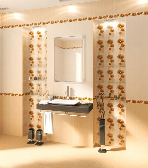 Плитка Golden Tile — Коллекция «Маргарита» (бежевый)