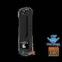 Мини камера IDV009 1920x1080p со встроенным дисплеем, диктофоном и mp3 плеером