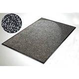 Полипропиленовый грязезещитный коврик 90*150, серый., фото 2