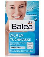 """Balea AQUA TUCHMASKE Маска для лица """"AQUA """" снимет следы усталости 1 шт"""