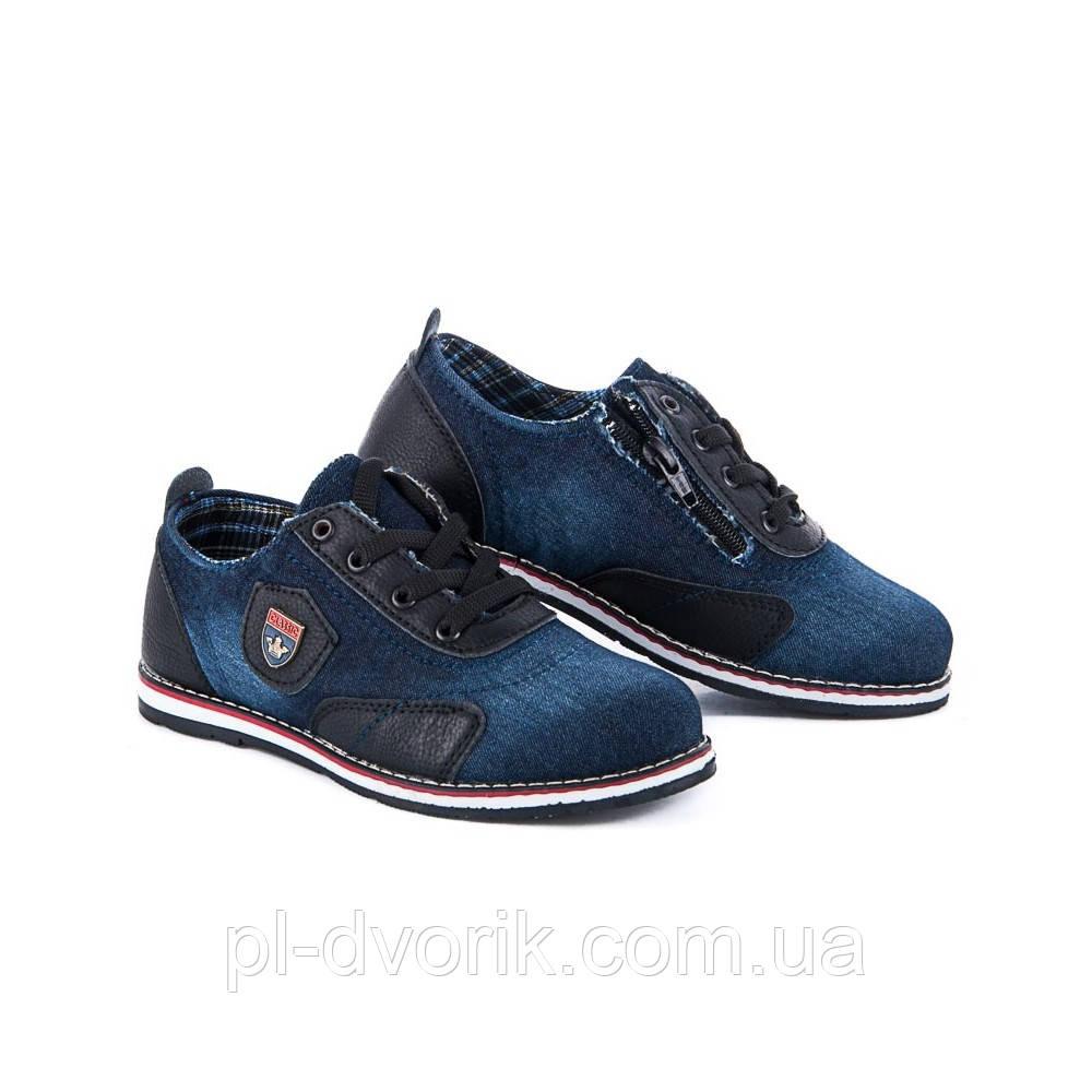 Туфли  Артикул: Cinar 508-1 Материал: джинс; платформа: 1.5 см; размер 35