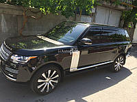 "Дефлекторы дверей (ветровики) Land Rover Range Rover Vogue 2013 деф.окон ""CT"""