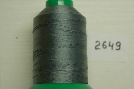 Нить Титан №20 2000 м. Италия цвет (2649) перламутр срібло, фото 2