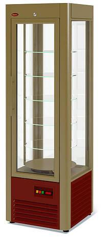Холодильный шкаф Veneto RS-0,4 (вращающиеся полки), фото 2