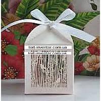 Cake Packaging Бонбоньерки Птички в лесу 10 шт розовые