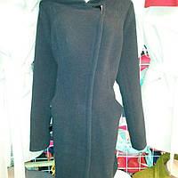 Демисезонное женское молодежное пальто из натурального кашемира