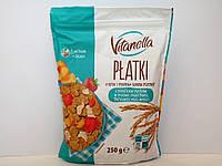 Завтрак рисово-пшеничный Vitanella хлопья с клубникой и абрикосом 250 г