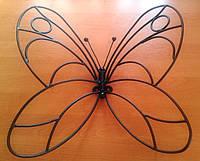Кованая бабочка 500х600