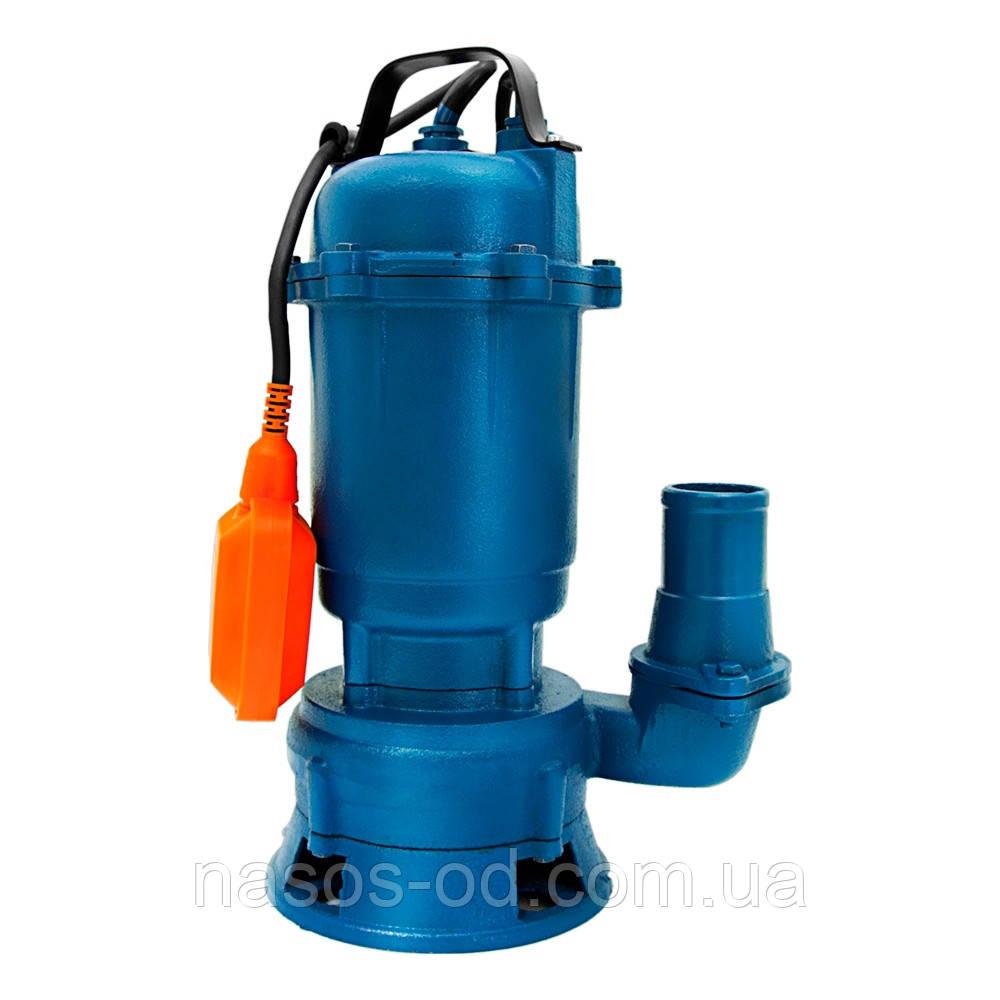 Канализационный насос фекальный Wetron для выгребных ям 1.1кВт Hmax10м Qmax200л/мин