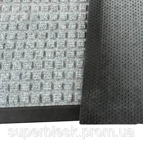 Грязезещитный коврик Ватер-Холд (Water-hold), 60*90, серый.