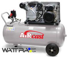 ⭐ Компрессор Aircast СБ4/С-50.LB24 с горизонтальным ресивером (Remeza) (50л, 360 м3/час, 380 В)