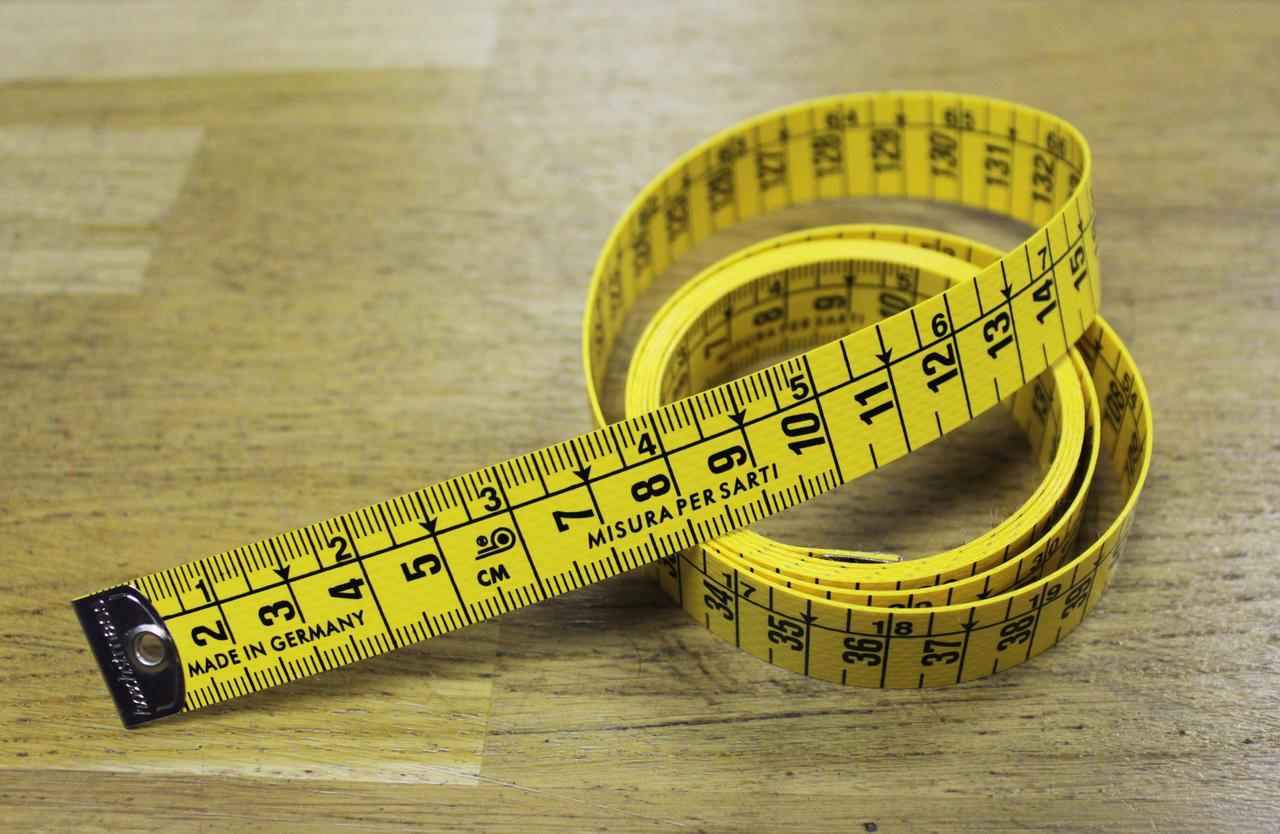 """Измерительная лента высокого качества 150 см. (желтый, см./см.) - Интернет-магазин """"Шито-Крыто"""" в Одессе"""