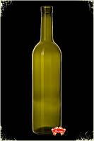 Бутылка 0,750 л.  Винная
