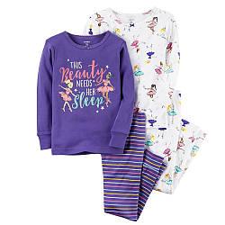 Комплект хб пижам Carters (Картерс) Балет (2Т,3Т,4Т,5Т)
