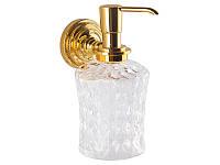 Дозатор для жидкого мыла Kugu  Versace, золото