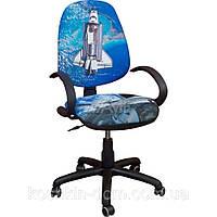 Компьютерное Кресло Поло 50/АМФ-5 Дизайн № 19 Космос
