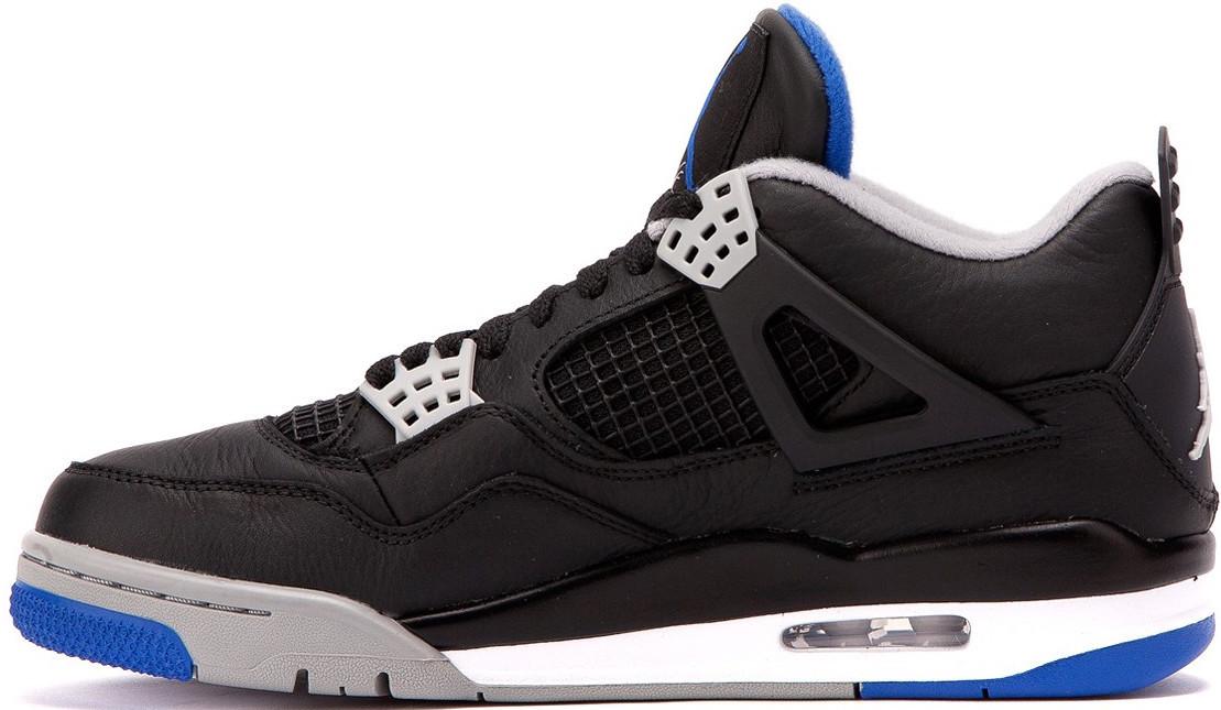Баскетбольные кроссовки Nike Air Jordan IV Game Royal Black