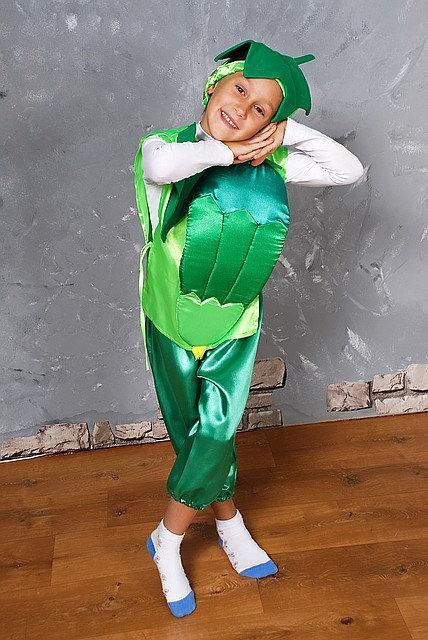Детский карнавальный костюм Огурец