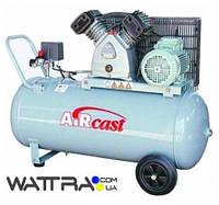 Компрессор Aircast СБ4/С-200.LB30A с горизонтальным ресивером (Remeza)