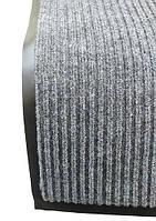 Грязезащитный коврик Дабл Стрипт, 40*60 серый.