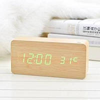 Часы оригинальные wood sensor часы брусок дерева