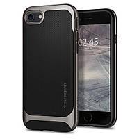 Чехол Spigen для iPhone SE 2020/8/7 Neo Hybrid Herringbone, Gunmetal (054CS22197), фото 1