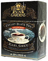 Чай черный Sun Gardens Earl Grey 90г.