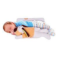 Валик для сна с игрушкой