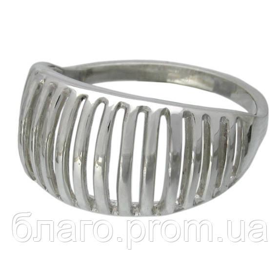 Женское серебряное кольцо 925 пробы без камней