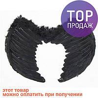 Крылья Ангела 40х55 (чёрные) / карнавальный костюм