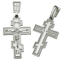 Серебряный крестик 925 пробы